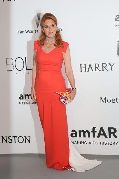 Sarah Ferguson attends amfAR's 22nd Cinema Against AIDS Gala, 2015