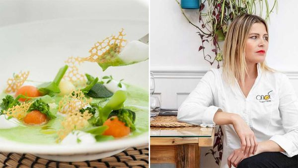 ONA restaurant, France, and head chef Claire Valley