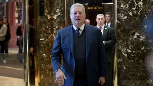 Al Gore has 'very interesting' talk with Donald Trump on climate change