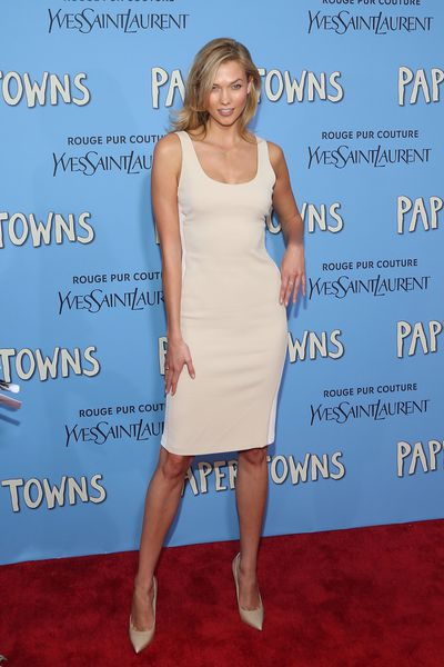 <p>Karlie Kloss in Calvin Klein Collection</p>