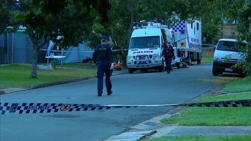 A large police presence will remain in the area in the coming days. (9NEWS)