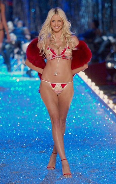 Heidi Klum at the 2003 Victoria's Secret Show