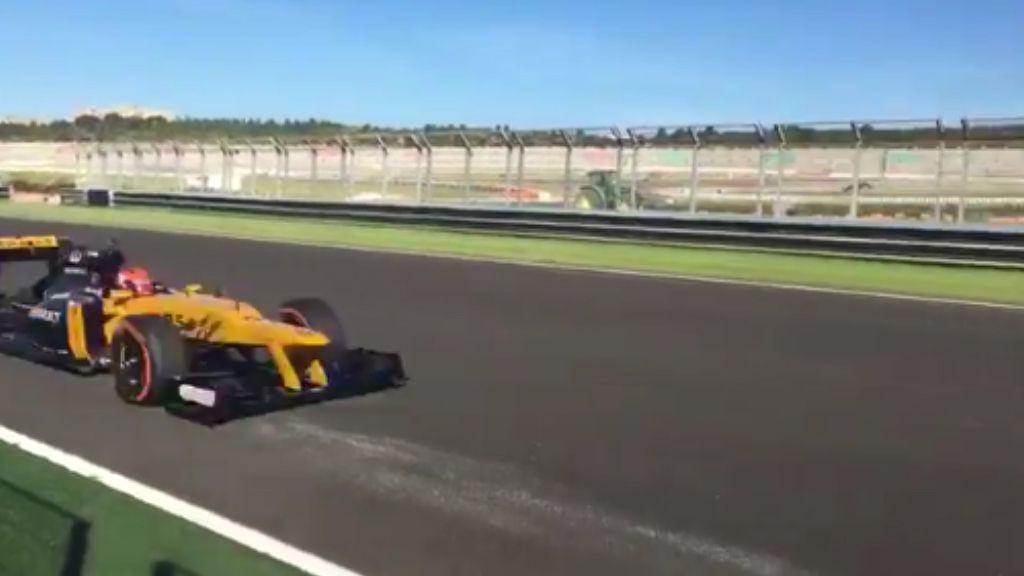 Kubica a step closer to F1 return