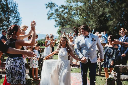 A social media post was shared so widely that Mikaila's local community joined together to offer services and items free-of-charge so that the wedding could go ahead. (Beth Fernley)