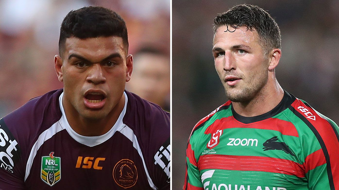 David Fifita reportedly rejects South Sydney's giant multi-year deal, despite Sam Burgess meeting