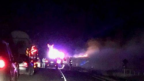 190527 Queensland Bunya Highway car truck crash Kumbia mum children dead news Australia