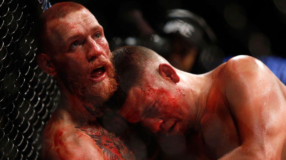 Conor McGregor. (AAP)
