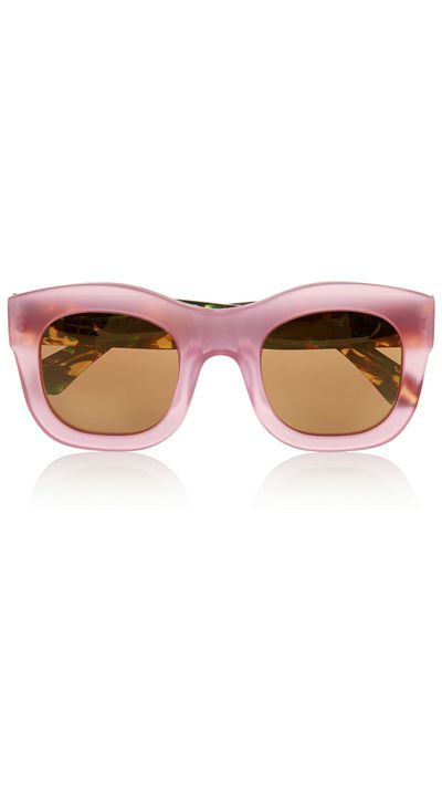 "<a href=""http://www.net-a-porter.com/au/en/product/571181"" target=""_blank"">Sunglasses, $377.65, Illesteva at net-a-porter.com</a>"