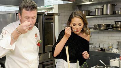 Chrissy Teigen launches Hulu cooking show