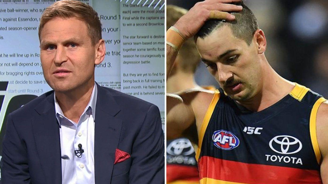 Kane Cornes unleashes on Taylor Walker's mindset in latest episode of bitter AFL feud