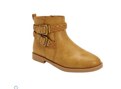 "<a href=""http://www.kmart.com.au/product/casual-boots/1226809"" target=""_blank"" draggable=""false"">Kmart Girls' Junior Boot, $25 (size six to 12 junior).</a>"
