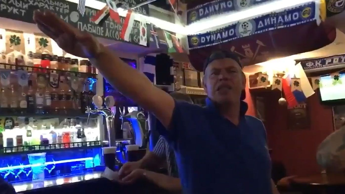 British police investigating England World Cup fans in Nazi salute video