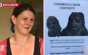 Bizarre Chewbacca revenge taken on Queensland woman over break-up
