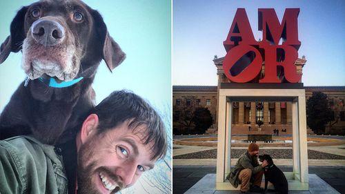Nebraskan man farewells dying dog with epic road trip