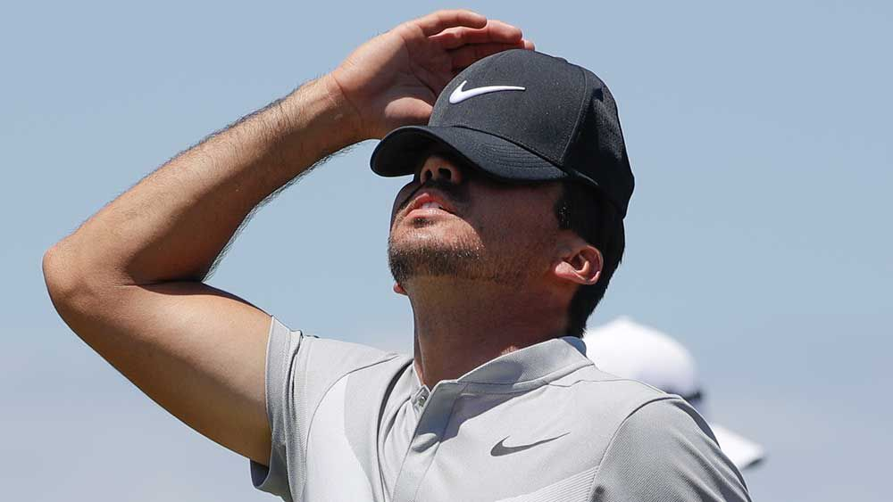 Jason Day has missed the cut at the Travelers Championship. (AAP-file)