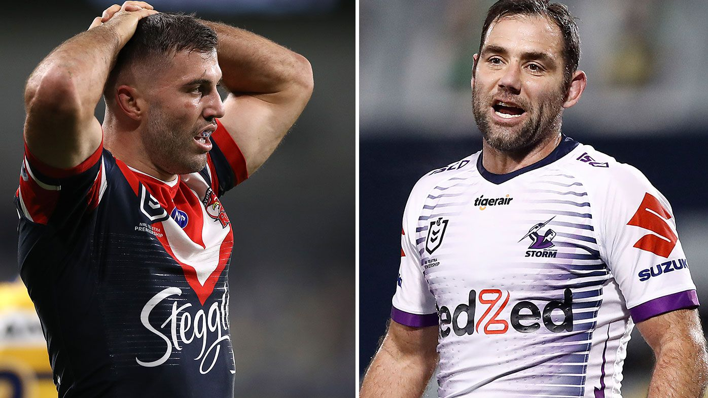 EXCLUSIVE: 'They looked really physically battled': Gould's big fear for Storm and Roosters come finals