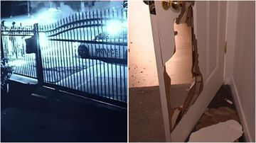 Police allege a man who lives in the Parafield Gardens house broke into the rear granny flat and attacked the man living there.