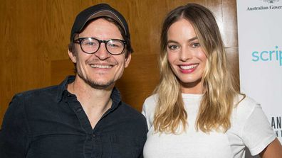 Damon Herriman and Margot Robbie.