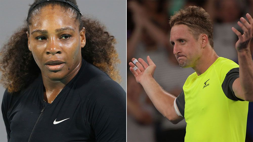 Twitter spat between Serena Williams and Tennys Sandgren explodes during Australian Open