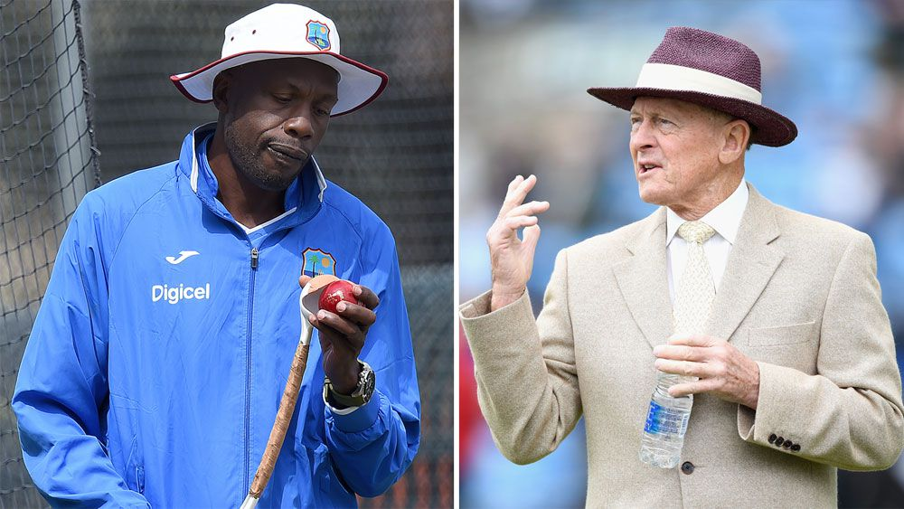 Curtly Ambrose and Geoffrey Boycott.