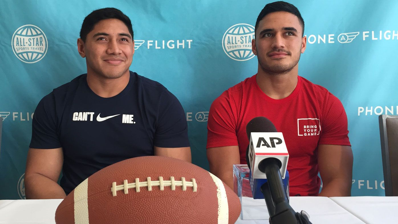 Valentine Holmes speaks about decision to quit NRL for shot at NFL dream