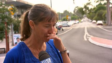 Liberal candidate Wendy Lindsay was allegedly abused as she was handing out flyers outside a Sydney train station.