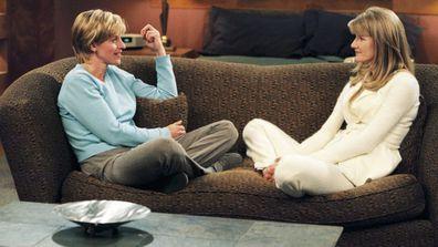 Ellen DeGeneres, Laura Dern