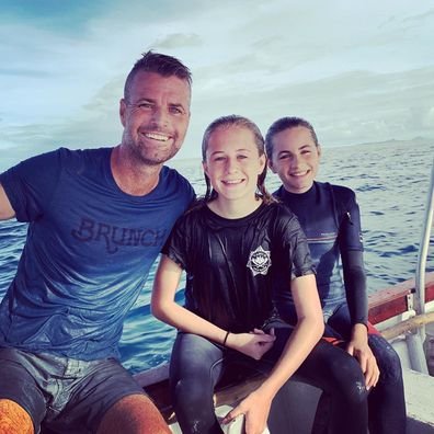 My Kitchen Rules, chef Pete Evans, daughters, holiday, Instagram photo