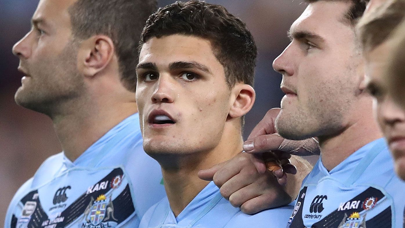 Nathan Cleary in uncharted waters amid his early career as NSW Origin halfback