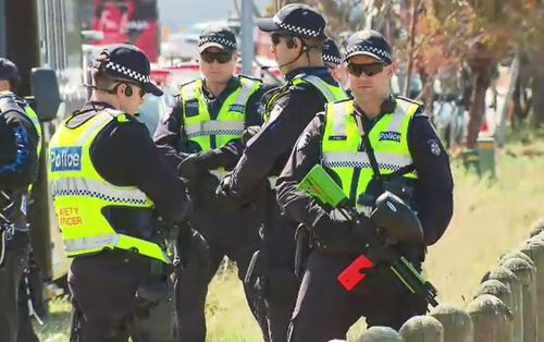 Victoria Police said they want to make it clear they are not providing any escort or facilitating participation in this ride.