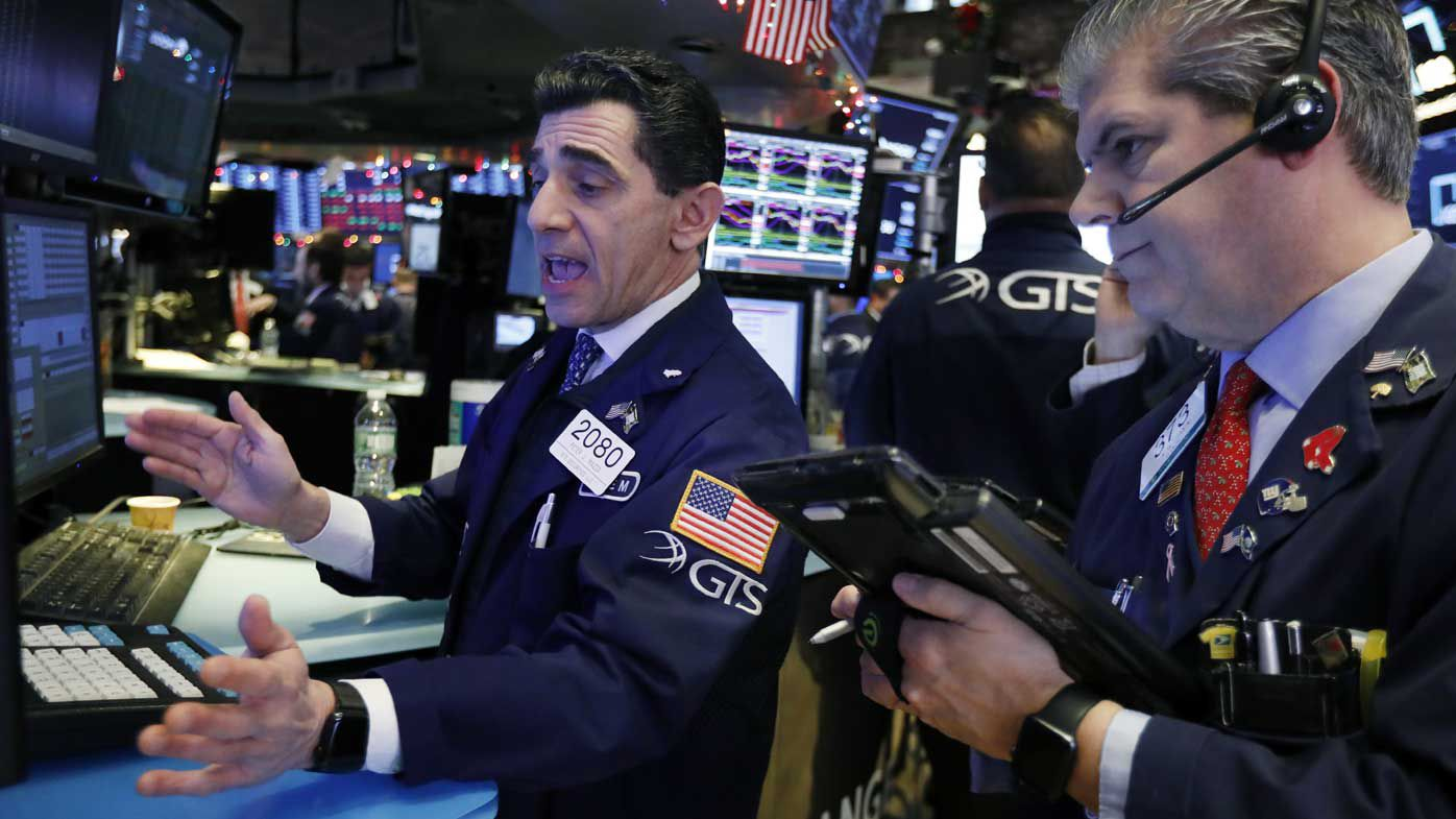 Wall Street traders.