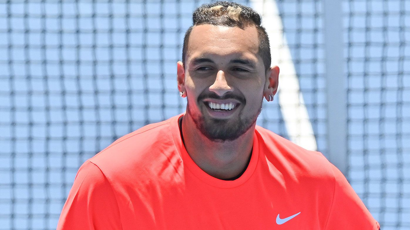 Nick Kyrgios maintaining confidence despite being handed horror draw