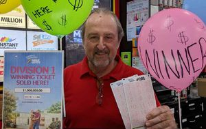 Brisbane man thanks his 'lucky charm' after trip to the dentist leads to $1 million lotto win