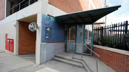 The entrance to Southport Watch House. (AAP)