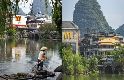 McDonald's in Yangshuo, China