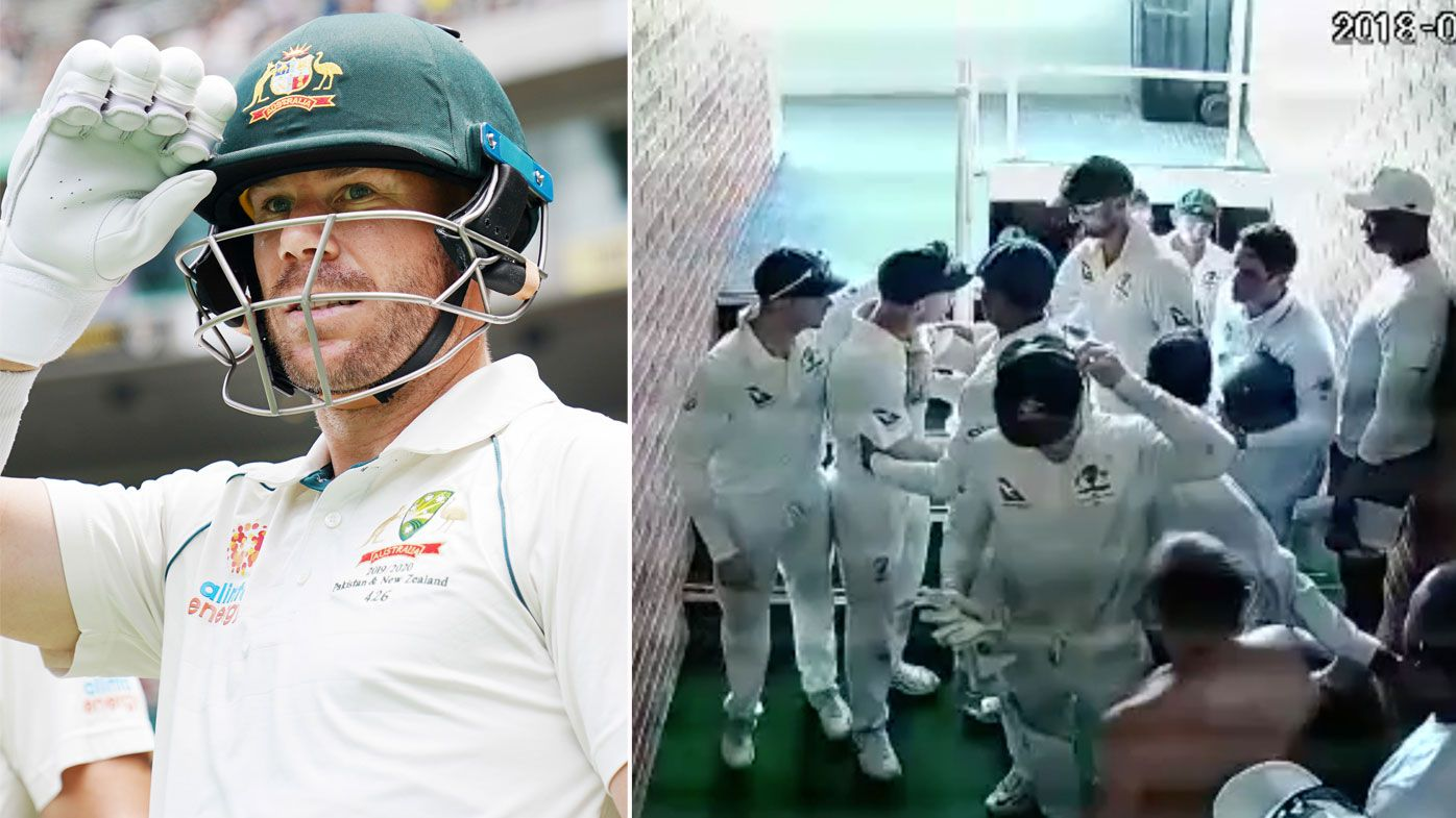 David Warner now, and right, his altercation with De Kock in the infamous 2018 Tour of South Africa.