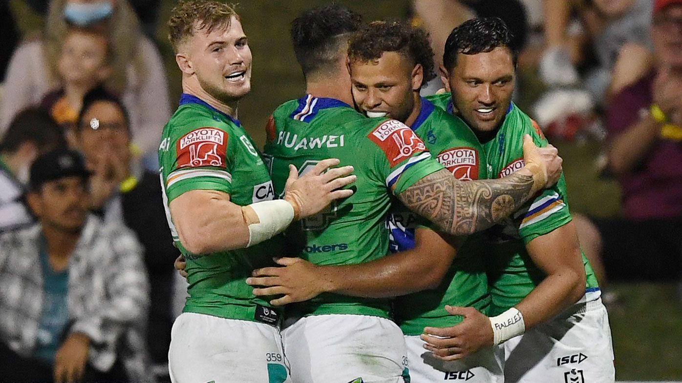 Last-ditch Raiders pull off almighty comeback against Warriors to bolster finals hopes