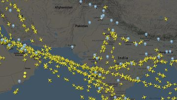 Pakistan airspace is closed.