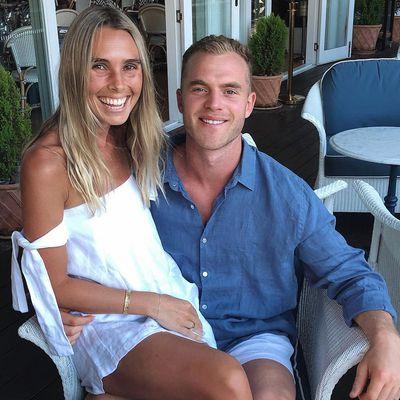 Hannah Davis and Tom Mitchell