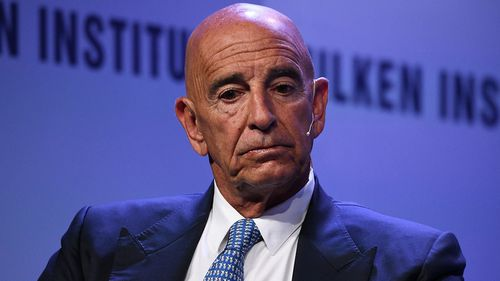 The chairman of former President Donald Trump's inaugural committee, Tom Barrack, was charged in a conspiracy to illegally advance the interests of the United Arab Emirates.