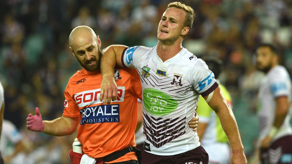 DCE injured as Sea Eagles beat Roosters