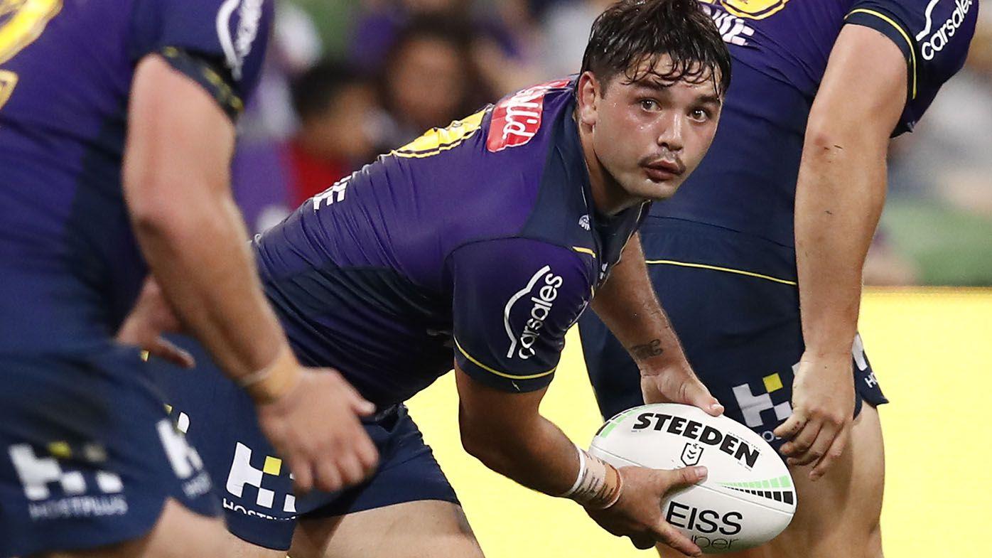 Rival hooker Brandon Smith predicts Harry Grant on bench in NRL return for Storm