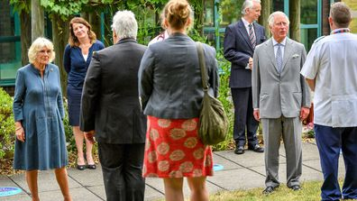 Prince Charles Camilla, Duchess of Cornwall first royal engagement in person following covid-19 outbreak