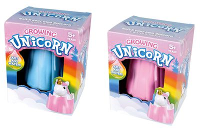 "<a href=""https://www.mightyape.com.au/product/hatch-growing-unicorn-assorted-colours/26709899?gclid=CPKQwpv-7dICFUsGKgod42oJJw"" target=""_blank"">Hatch Growing Unicorn, $5.99.</a>"
