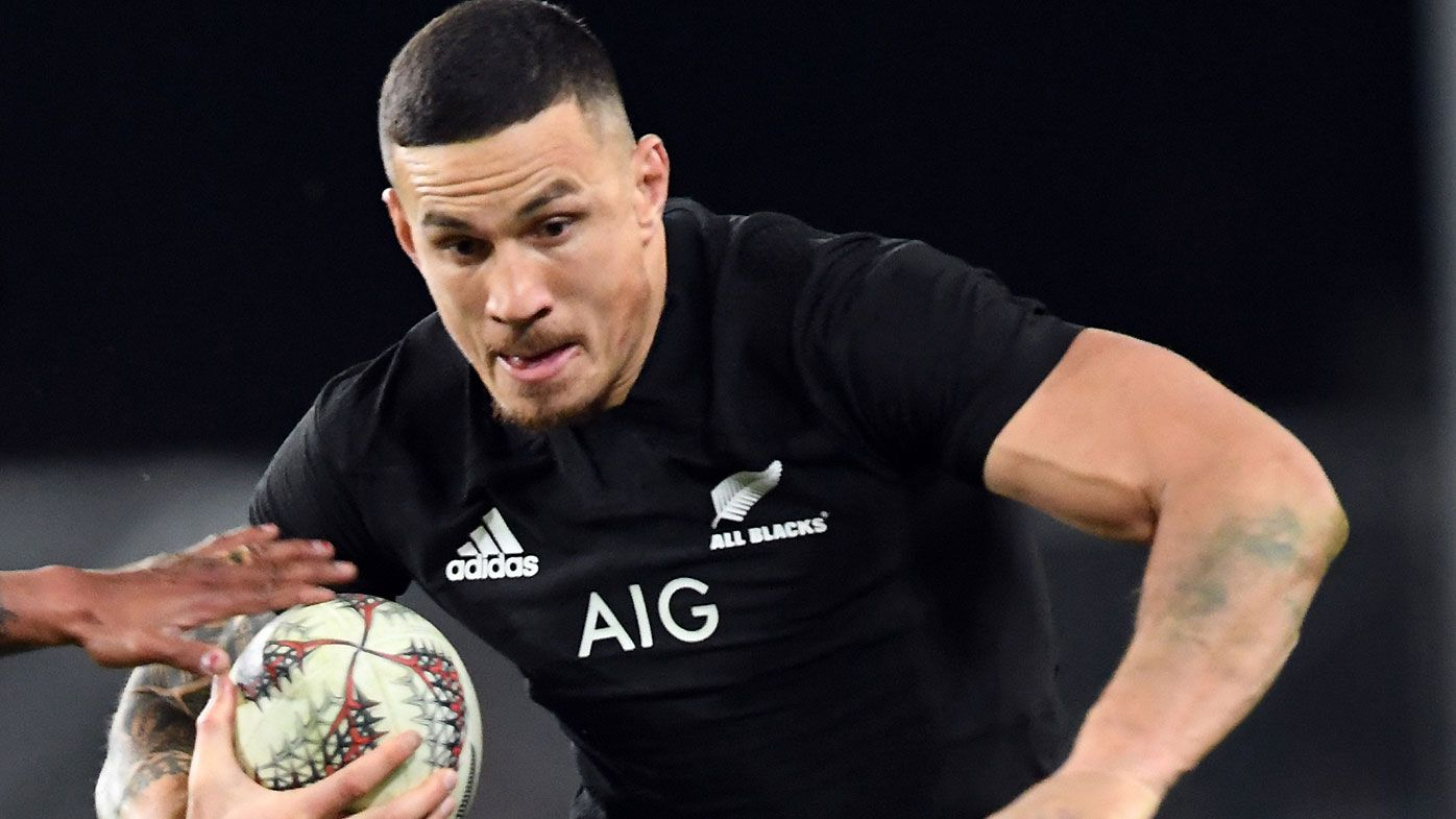 Injury forces SBW out of Bledisloe Tests