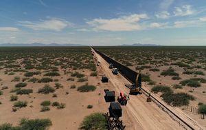 Trump visits US-Mexico border as he claims new wall will stop coronavirus
