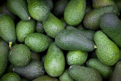 Avocados: 29mg per 100g