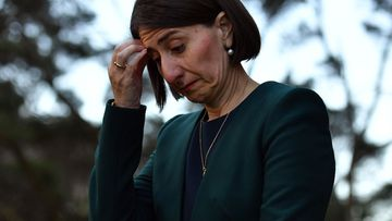NSW Premier Gladys Berejiklian after facing ICAC today.