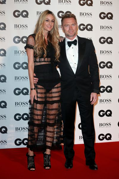 Storm and Ronan Keating at the British GQ Men of the Year Awards