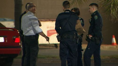 An off-duty police officer tackled the man and recovered the 'stolen' cash.